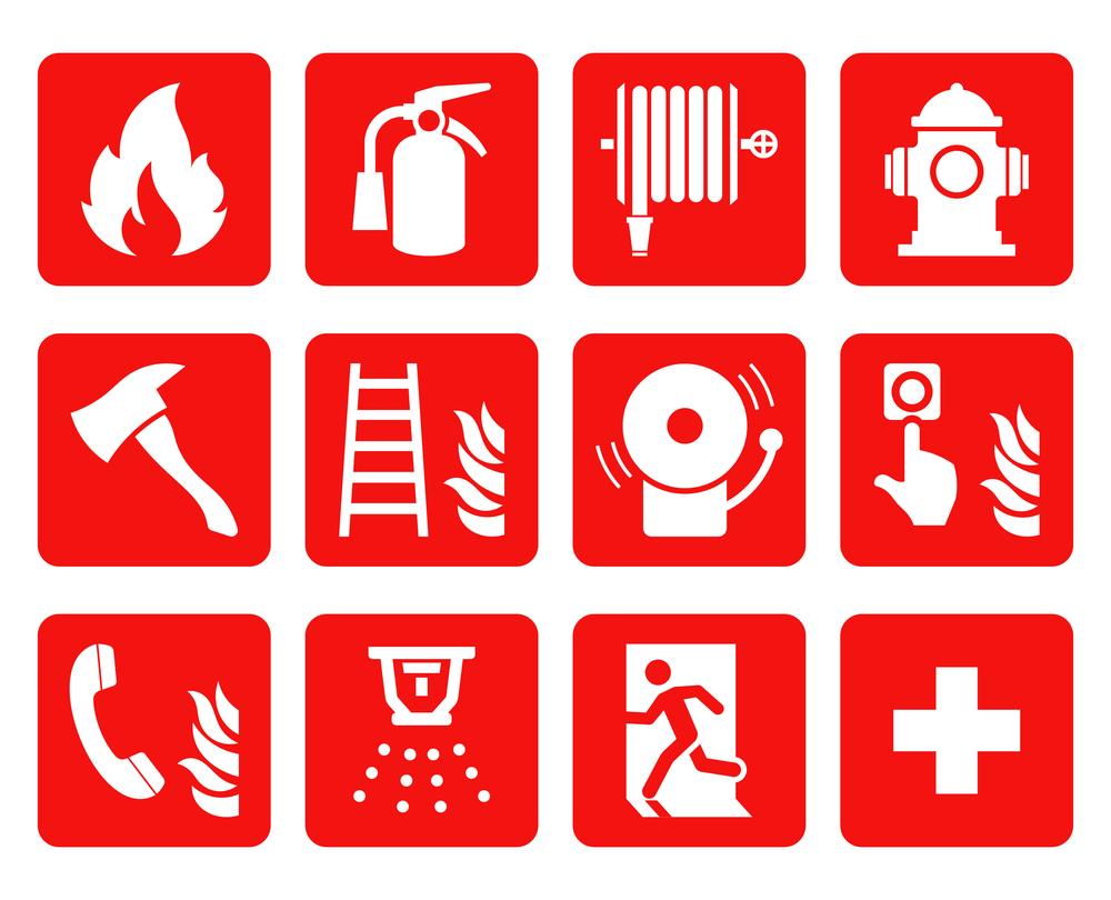 cartelli antincendio