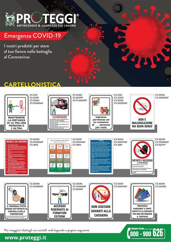 Catalogo prodotti emergenza COVID19